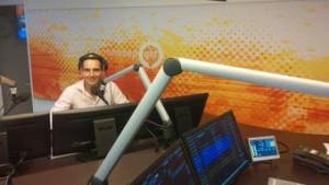 Eén van mijn eerste uitzendingen bij Radio Gelderland.